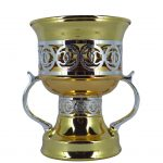 Gold/Silver Metal Burners H-14cm