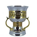 Silver/Gold Metal Burners H-14cm